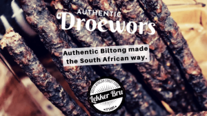 Authentic Beef Droewors 100g