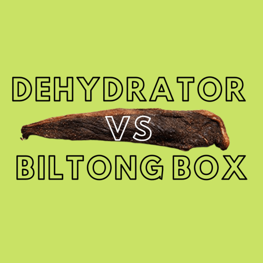 Dehydrator vs biltong box. How to dry biltong fast and on a budget.