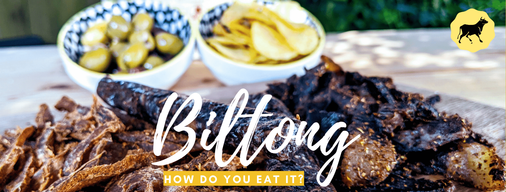 How to eat biltong, the #1 epic snack!