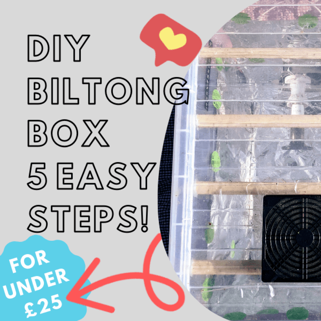 How to make a Biltong box, in 5 easy steps for under £25.