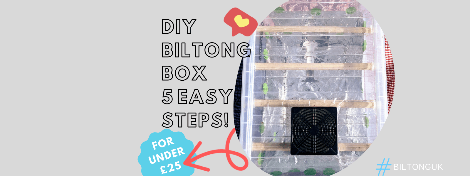 How to make a biltong box