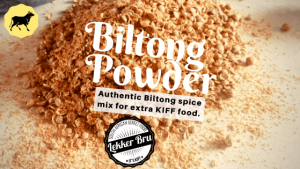Biltong Powder Spice Mix with Biltong shavings